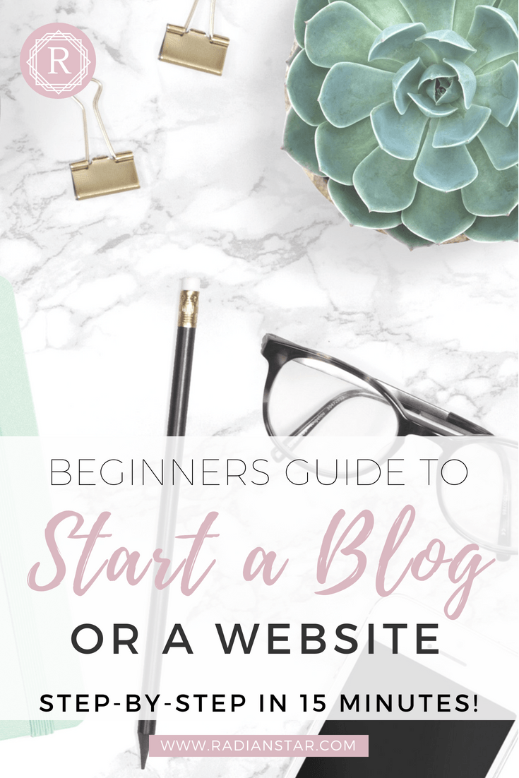 How To Start A Blog Or Website For Beginners