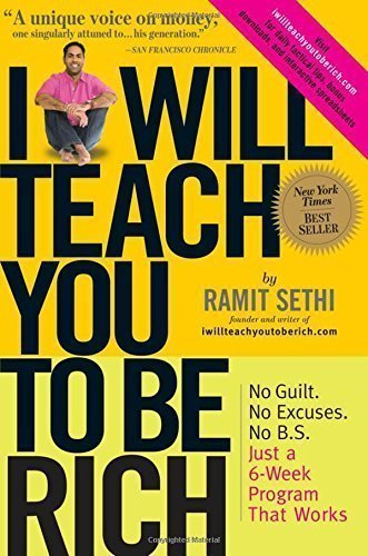 I will teach you to be rich book by Ramit Sethi