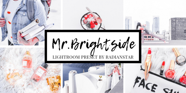 Lightroom Preset Cover Mr Brightside