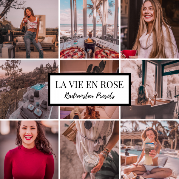 Lightroom Preset La Vie En Rose