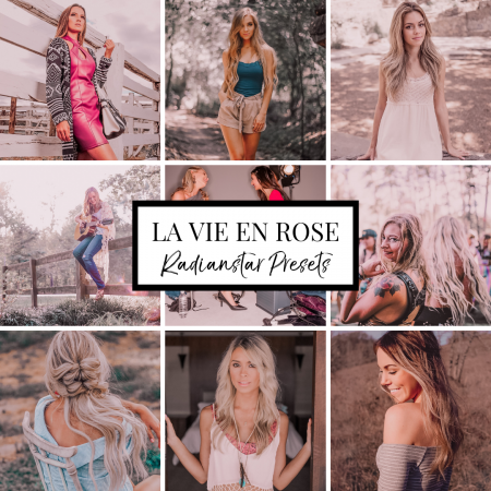 Mobile Lightroom Preset LA VIE EN ROSE