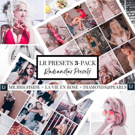 Mobile Lightroom Preset Bundle Pack