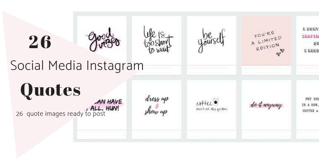 26 Instagram Quote Graphics Radianstar