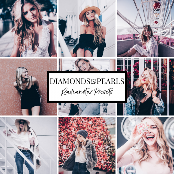 Lightroom Preset Diamonds Pearls by Radianstar