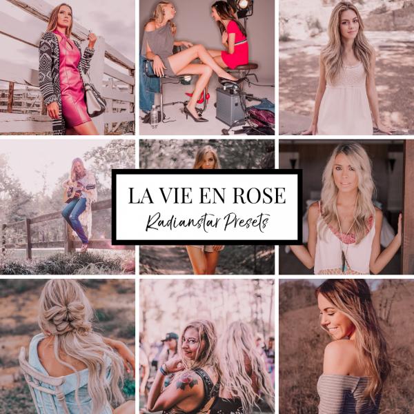 Lightroom Preset For Mobile La vie En Rose By Radianstar Pink Mobile Instagram Influencer