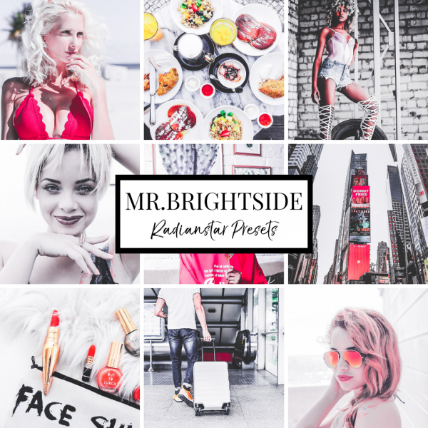 Lightroom Preset Mr Brightside by Radianstar Clean