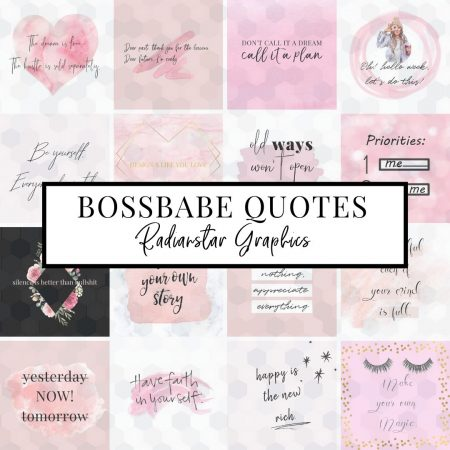 20 Bossbabe Quote Graphics