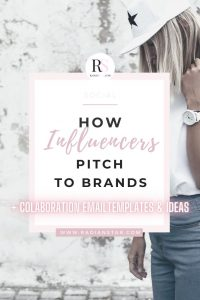 Helpful Brand Collaboration Pitch DMs / Influencer Outreach Templates
