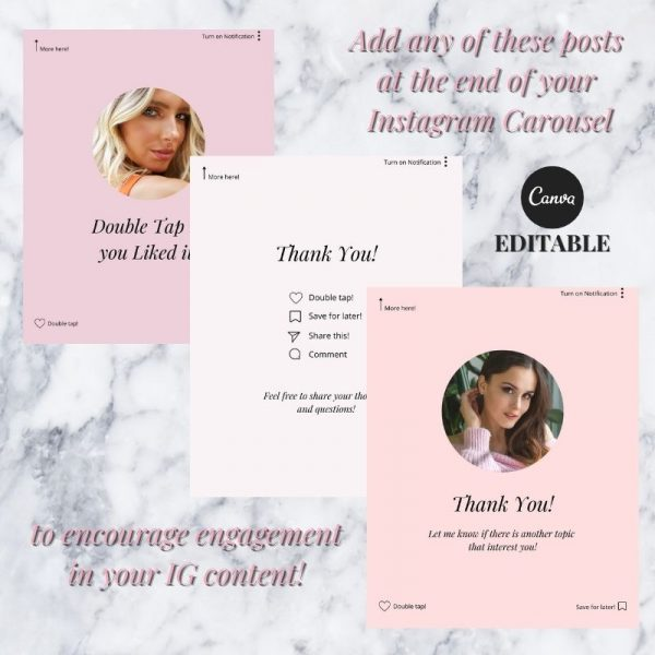 Canva template Instagram Engagement Booster by Radianstar