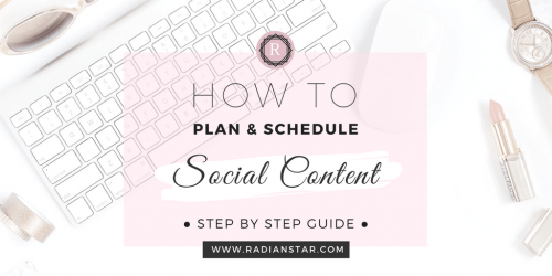 How to plan and schedule your social content editorial calendar TW