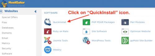 Install wordpress on hostgator cpanel